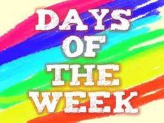 Dans cette leçon vidéo d'apprentissage de l'anglais, vous allez apprendre les jours de la semaine Days of the week en englais avec la prononciation et la tra...