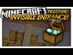 "Minecraft Redstone ""The Hipster Door"" Funny Minecraft Redstone Creations (Minecraft 1.8) - YouTube"