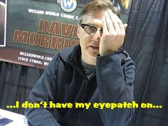 David Morrisey at Wizard World Las Vegas 2015 interviewed by Hillywood