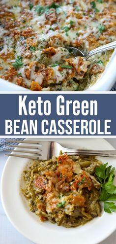 Low Carb Green Bean Casserole