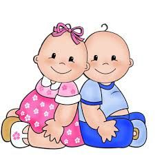 Baby Playing Babies And Cards Clipart - Cliparts. Boy And Girl Cartoon, Baby Cartoon, Cute Cartoon, Boy Or Girl, Clipart Baby, Twin Babies, Cute Babies, Baby Painting, Baby Shawer