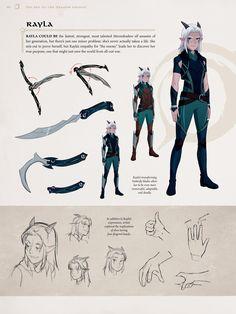 Game Character Design, Fantasy Character Design, Character Design Inspiration, Character Art, Character Outfits, The Dragon Prince Book, Dragon Prince Season 3, Rayla Dragon Prince, Rayla X Callum