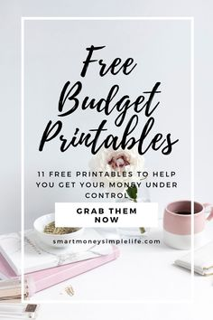 Don't wait for the New Year, or adverse circumstances to motivate you to get your finances in order. Choose from the free budget printables listed below and get started today.