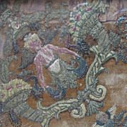 Circa 1500's Elizabethan Needlework Embroidery