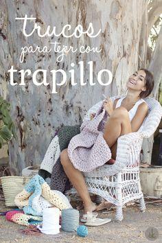 Trucos y Atajos para tejer con Trapillo