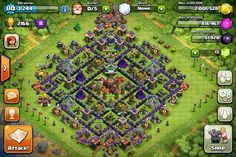 CLASH OF CLANS BASE STRATEGY: Town Hall 10