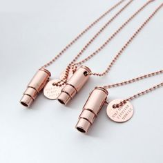 The Pig has brought on local business, HALF UNITED. Purchase a Half United Fighting Hunger Bullet Necklace- Rose Gold to provide 7 meals to children in need. Haiti, Kinder In Not, Bullet Necklace, Gold Necklace, Pendant Necklace, Recycling, Bullet Casing, Children In Need, Cristiano
