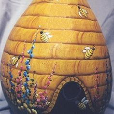 Dried Gourd 'Beehive'~