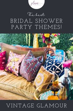Plan the perfect bridal shower! Here are the BEST themes for 2021 / Bridal shower ideas / How to plan a Bridal Shower / Bridal Shower Inspiration / Lemon Bridal Shower / Garden / Southwest / Aloha / Something Blue / Tiffany's / Chanel / Adventure Awaits / Pearls of Wisdom Bridal Shower / Harry Potter / Friends Series / Pastel & Floral / Blush & Gold / Fiesta / Bohemian / Tea Party / Black & White Glam / Vogue Lingerie / Bubbles & Besties / Vintage Glamour / Scooped Up / Mint to Be / Rustic… Bridal Shower Party, Bridal Shower Rustic, Harry Potter Friends, Friends Series, Shower Inspiration, Cool Themes, Pastel Floral, Blush And Gold, Vintage Glamour