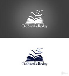 logo design for our current client the bramble bindery Logo Desing, Branding Design, Web Design, Ep Logo, English Logo, Library Logo, Learning Logo, Book Logo, Logo Creation