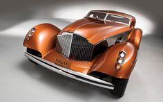 """1934 Packard """"Myth"""" Custom Boattail Coupe"""