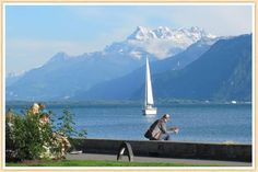 Lake Geneva, (Lac Lèman in French), is the largest lake in Switzerland and ranked 23rd in Europe.