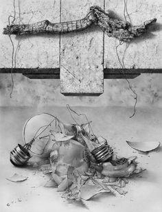 Requiem, Graphite, by Armin Mersmann