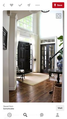 Black Interior Doors   Hadley Court Talks About 5 Reasons Why You Should  Paint Your Door Black.