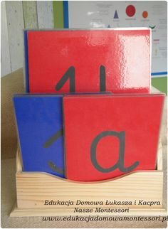 Szorstkie litery - DIY