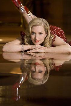 "Emily Procter (Born: Emily Mallory Procter - October 8, 1968 - Raleigh, NC, USA) as Calleigh Duquesne on ""CSI: Miami"""