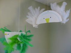 Paper Plate Bird Crafts - very easy to make!