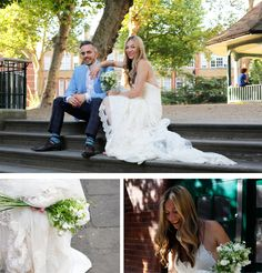 Victoria, an exceptional bride, in Alabama wedding dress by YolanCris. Wedding in London.