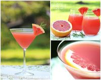 Herb Infused Ruby Red Cocktail #blogger #drink #pinay #travel