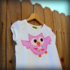 Birthday Party Owl Shirt- Coordinates with Mary Had A Little Party's Shop Items.