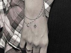 bileklik dövmeleri bayan wristband tattoos for women 2