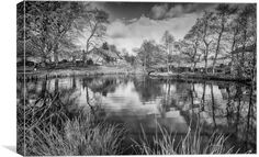 Lumsdale middle pond by Jason Moss Free Ecommerce, Pond, Middle, Canvas Prints, River, Outdoor, Decor, Outdoors, Water Pond
