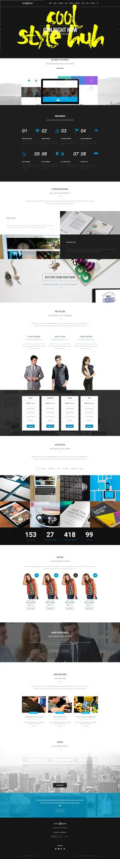 Bishop Wonderful Multipurpose One & Multi Page #HTML Template #website #design #theme