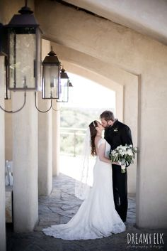 bride, lace wedding dress, lace veil, white wedding bouquet, wedding hair down, groom, traditional hungarian tux, outdoor spring april wedding photo, chapel dulcinea ceremony, thurman's mansion, dripping springs, texas {dreamy elk photography and design}