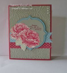 Blossom Birthday by karrenj - Cards and Paper Crafts at Splitcoaststampers