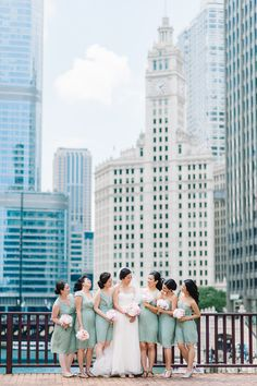 Chicago Wedding, photo by T & S Hughes