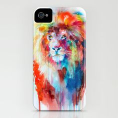 Lion iPhone  iPod Case