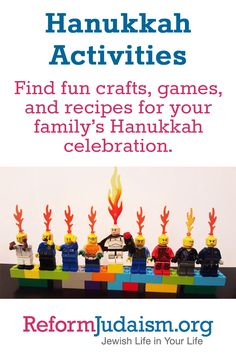 Find fun crafts, games, and recipes for your family's Hanukkah celebration.