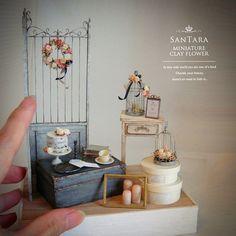 2018.04 Miniature Scene Dollhouse  ♡ ♡ By Sanae Taira