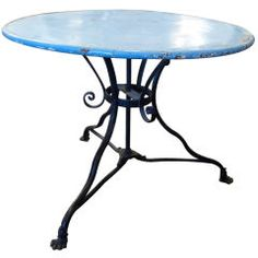 Iron Cafe Table