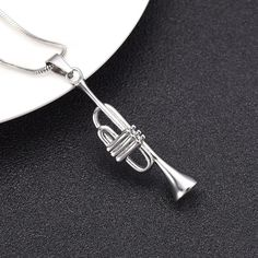 Oval Charm w// Lobster Clasp Baritone Euphonium Player Instrument Music Brass