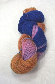 New Zealand  Worsted Weight Wool Yarn  by SunnyhillFiberDreams