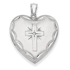 FB Jewels Solid 925 Sterling Silver Engraveable Round Patterned Polished Front Satin Back Disc