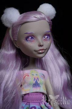 Custom Moanica OOAK Repaint by Prescilla OOAK Monster High #Mattel #DollswithClothingAccessories