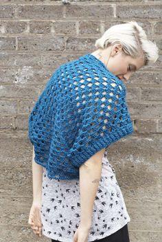 Crochet Gran & Bear It Shrug