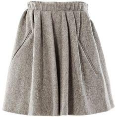 Acne skirts GREY