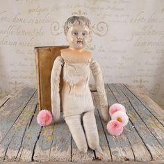 Old doll, toy, dolls