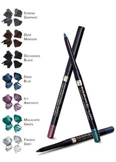 Automatic Eye Pencils - With a sharpener at the base and the ability to draw thick and thin lines with ease. The product lasts a long time without running or colour fading! perfect for your daily makeup or for a night out. Fm Cosmetics, Cosmetics & Fragrance, Mineral Cosmetics, Daily Makeup, Makeup Tips, Beauty Consultant, Gorgeous Makeup, Body Care, Health And Beauty