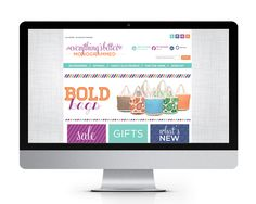 Everything's Better Monogrammed website designed and developed by The Savvy Socialista.