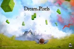 Dream of Pixels, a beautiful falling block puzzle game, in reverse! -- by Dawn of Play. Block Puzzle Game, Photoshop Cs5, Indie Games, Mobile Game, App Development, Dawn, Play, Top Ten, Awesome
