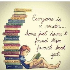 Everyone is a reader.