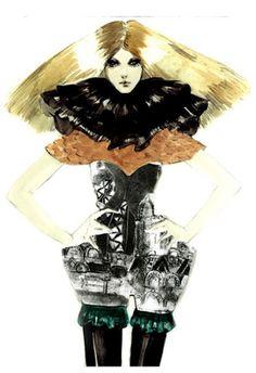 Connie Lim.... fashion illastrator....