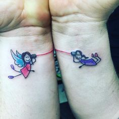 My Angel Sister Tattoo
