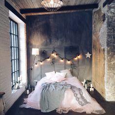 """Фотозона """"Кровать, звезды и лампочки"""""""