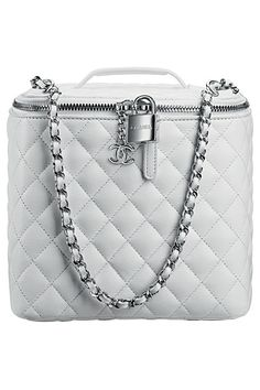 Chamel White Leather Case SS-2014 www.chanel.com #ChanelPerfection