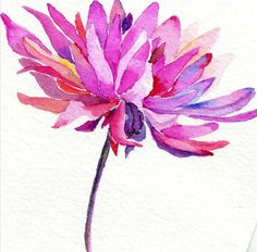 watercolor - Pure by Julie Morris